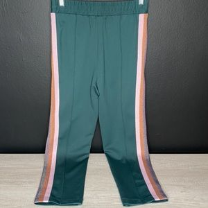 Spiritual Gangster Pants & Jumpsuits - NWT Spiritual Gangster Striped Classic Track Pant